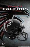 NFL: Atlanta Falcons- Helmet Logo Pôsters