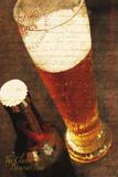 Bavarian Beer Giclée-tryk af Teo Tarras