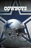 NFL: Dallas Cowboys- Helmet Logo Posters