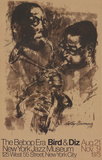 The Bebop Era: Byrd and Diz Kunst von LeRoy Neiman