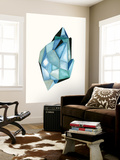 Faceted Gem C Wall Mural by Natasha Marie