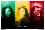 Bob Marley- Treble Smoke Prints