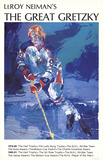 The Great Gretzky Láminas por LeRoy Neiman
