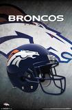 NFL: Denver Broncos- Helmet Logo Pôsters