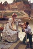 Courtship Giclee Print by Edmund Blair Leighton