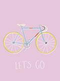 Bike Time Stampa giclée di Clara Wells