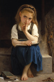 Pause for Thought Giclee Print by William Adolphe Bouguereau