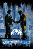Stephen Fishwick: Pink Floyd- Wish You Were Here Distressed Poster von Stephen Fishwick