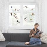 Oiseaux Stickers pour fenêtres
