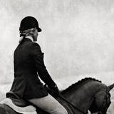 Dressage - The Rider Lámina giclée por Pete Kelly