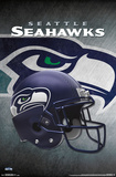 NFL: Seattle Seahawks- Helmet Logo Pôsters