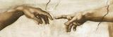 Creation of Adam - Focus Giclee Print by  Michelangelo