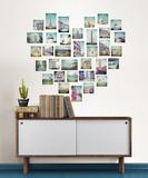 Love 2 Travel Wall Art Kit Adesivo de parede