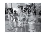 Los Angelas Store Manikins Photographic Print by Henri Silberman