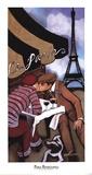 Paris Rendezvous Print by Jeff Williams