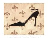 Poussoir Noir Affiche par Trish Biddle