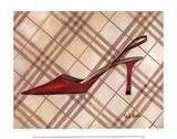 Poussoir Rouge Affiches par Trish Biddle