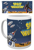 Space Invaders - Cabinet Art Mug Tazza