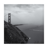Golden Gate Bridge Marin Headlands Fog Impressão fotográfica por Henri Silberman