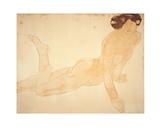 Femme Nue, Allongee sur le Ventre Serigrafía por Auguste Rodin