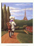 The Road to Paris Prints by Bryan Ubaghs