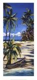Tropical Retreat I Print by Dana Ridenour
