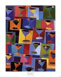 Zeit für einen Martini Kunstdrucke von Kathryn Fortson