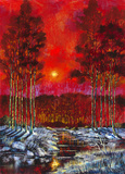 Winter Blush Limited Edition Print on Canvas by Ford Smith