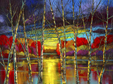 Luminous Watch Limited Edition Print on Canvas by Ford Smith