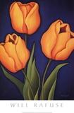 Tulpen Poster von Will Rafuse