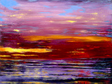Cabernet Tide Limited Edition Print on Canvas by Ford Smith