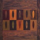 Ten Leaves Prints by Earl Kaminsky