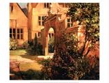 Sunlit Courtyard Posters por Philip Craig