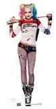 Suicide Squad - Margot Robbie Harley Quinn Cardboard Cutout Silhouettes découpées en carton