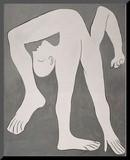 L'acrobate (The Acrobat) Mounted Print by Pablo Picasso