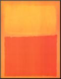 Orange and Yellow Mounted Print by Mark Rothko