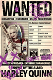 Suicide Squad- Harley Wanted Posters