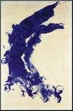Antropometrie, Ant 130, 1960 Kunst op hout van Yves Klein
