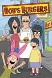 Bobs Burgers- Family Kunstdrucke