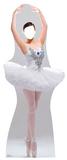 Ballerina Stand-In Cardboard Cutouts