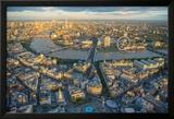 Jason Hawkes- London Evening Poster von Jason Hawkes