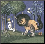 King of all Wild Things Mounted Print by Maurice Sendak