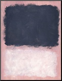 Untitled, 1967 Mounted Print by Mark Rothko
