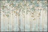 Dream Forest I Mounted Print by James Wiens