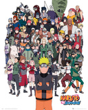 Naruto Shippuden- Group Affiches