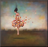 Boundlessness in Bloom Mounted Print by Duy Huynh