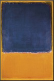 Utan titel, ca 1950 Print på trä av Mark Rothko