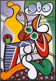 Naakt met stilleven, ca.1931 Kunst op hout van Pablo Picasso