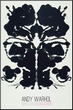 Rorschach Mounted Print by Andy Warhol