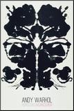 Rorschach Pohjustettu vedos tekijänä Andy Warhol
